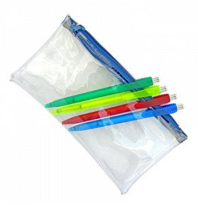 image of CL-090S  Clear PVC Pencil Case